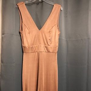 Charlotte Russe Tank Jumpsuit with zipper, small